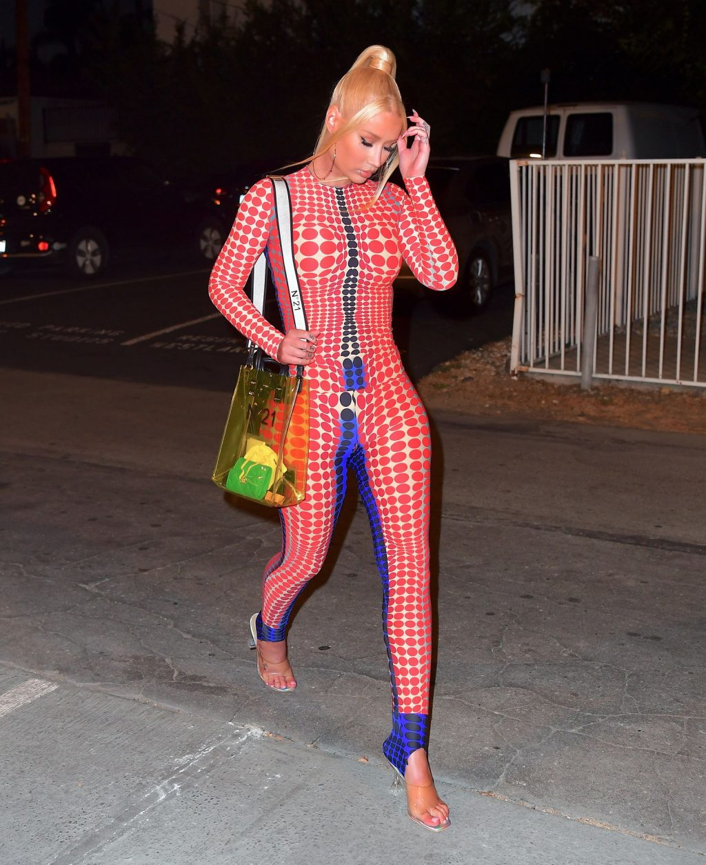 New Mom Iggy Azalea Returns To The Recording Studio For The First Time Since Giving Birth (25 Photos)