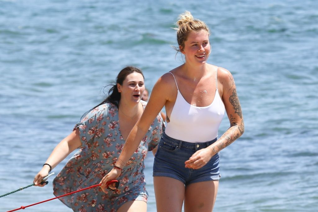 Ireland Baldwin Has a Fun Beach Day in Malibu (82 Photos)
