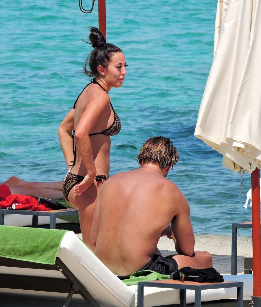 James Lock & Yazmin Oukhellou Relax and Sunbath in Majorca (30 Photos)