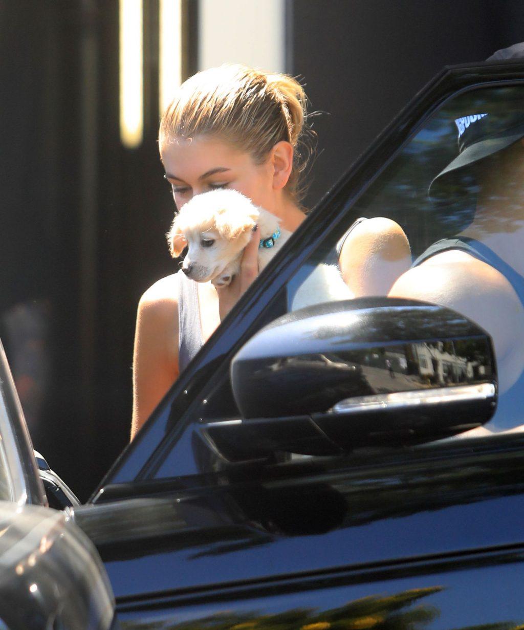 Kaia Gerber Totes Her New Corgi Pup While Showcasing Her Enviable Bod (34 Photos)