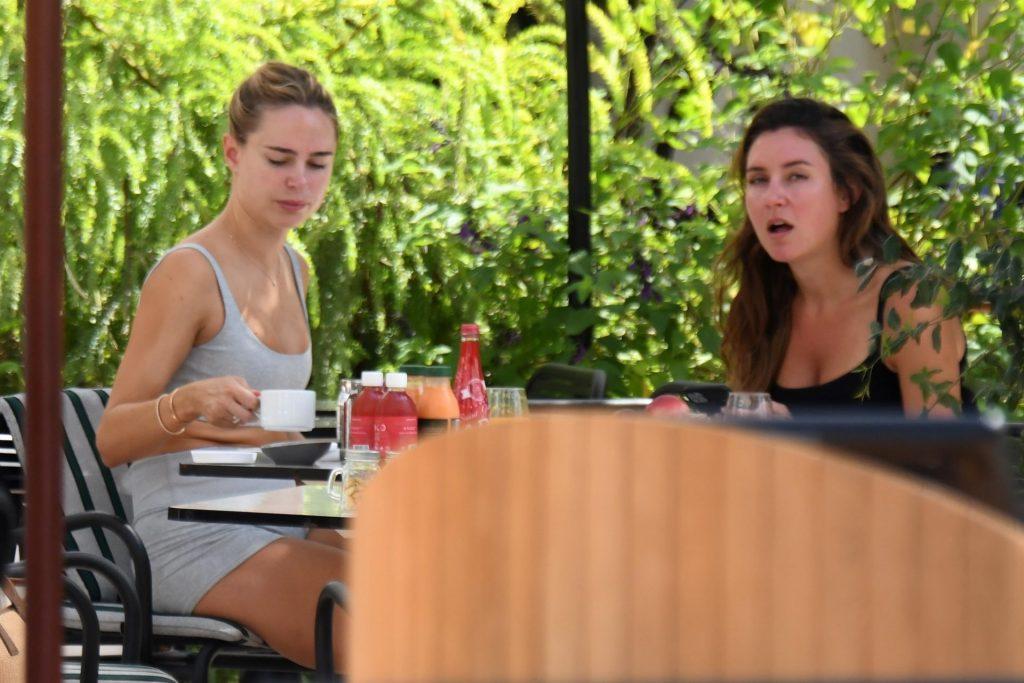 Sexy Kimberley Garner Is Pictured Enjoying Breakfast in Cannes (49 Photos)