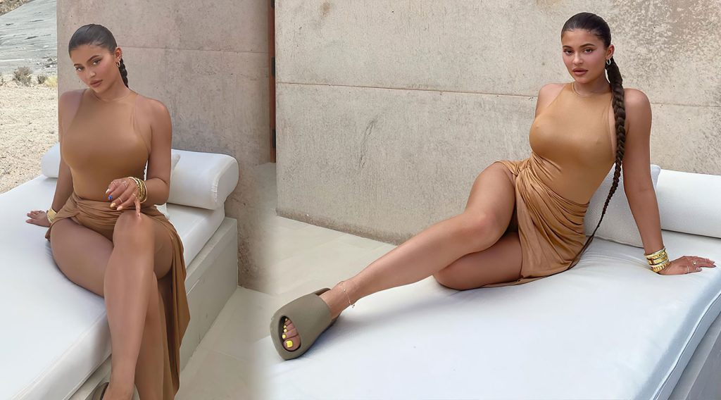 Kylie Jenner Shows Off Her Sexy Figure (14 Photos + Video)
