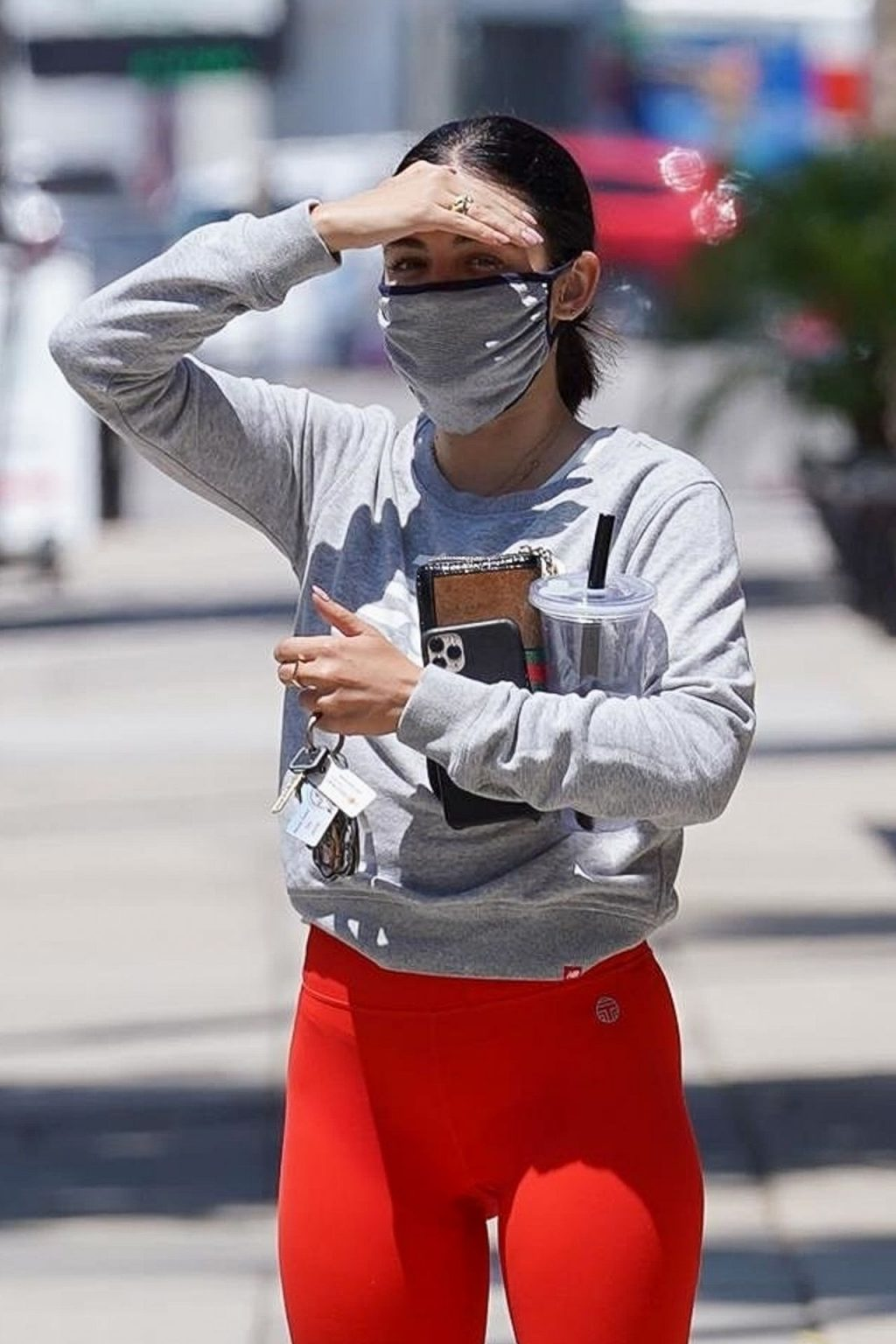 Lucy Hale Gets Her Workout Done at Training Mate (55 Photos)