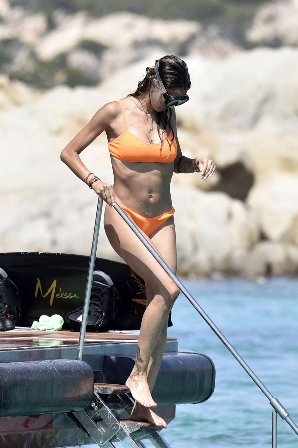 Kevin Prince Boateng & Melissa Satta Enjoy a Holiday in Sardinia (36 Photos)