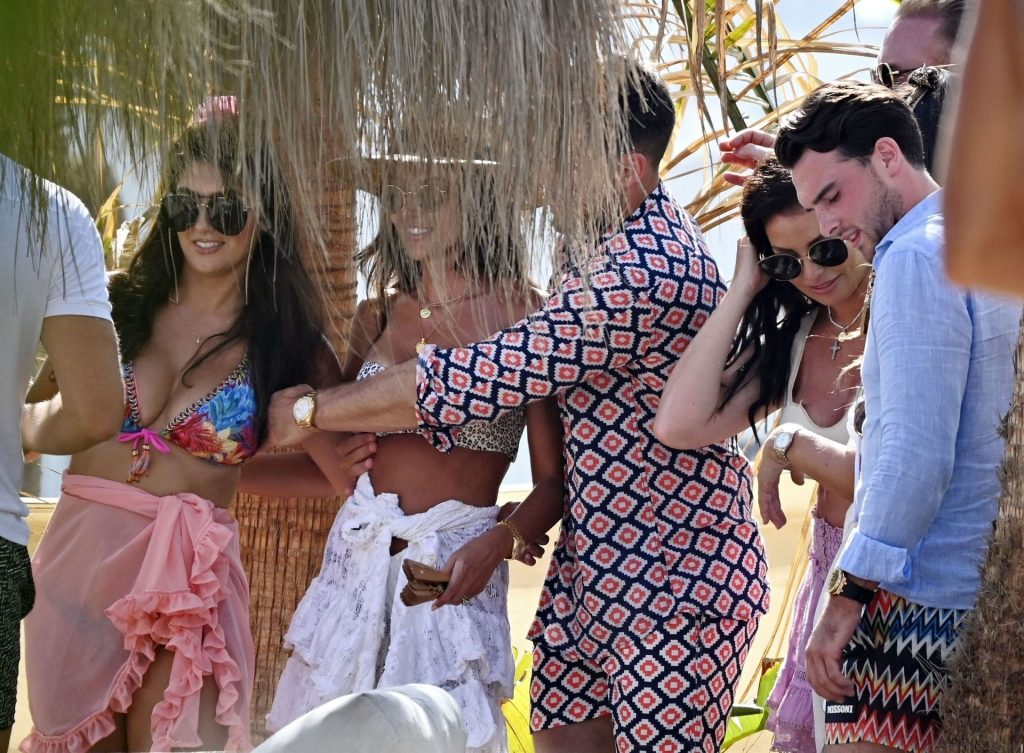 Michelle Keegan & Mark Wright Have Some Holiday Fun in Marbella (52 Photos)