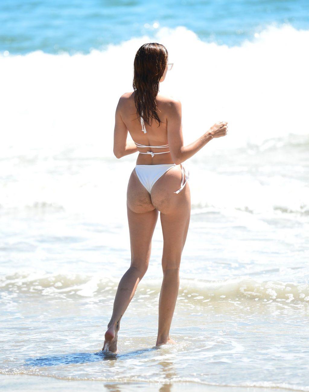 Nicole Williams Shows Off Her Incredible Bikini Body at the Beach (24 Photos)