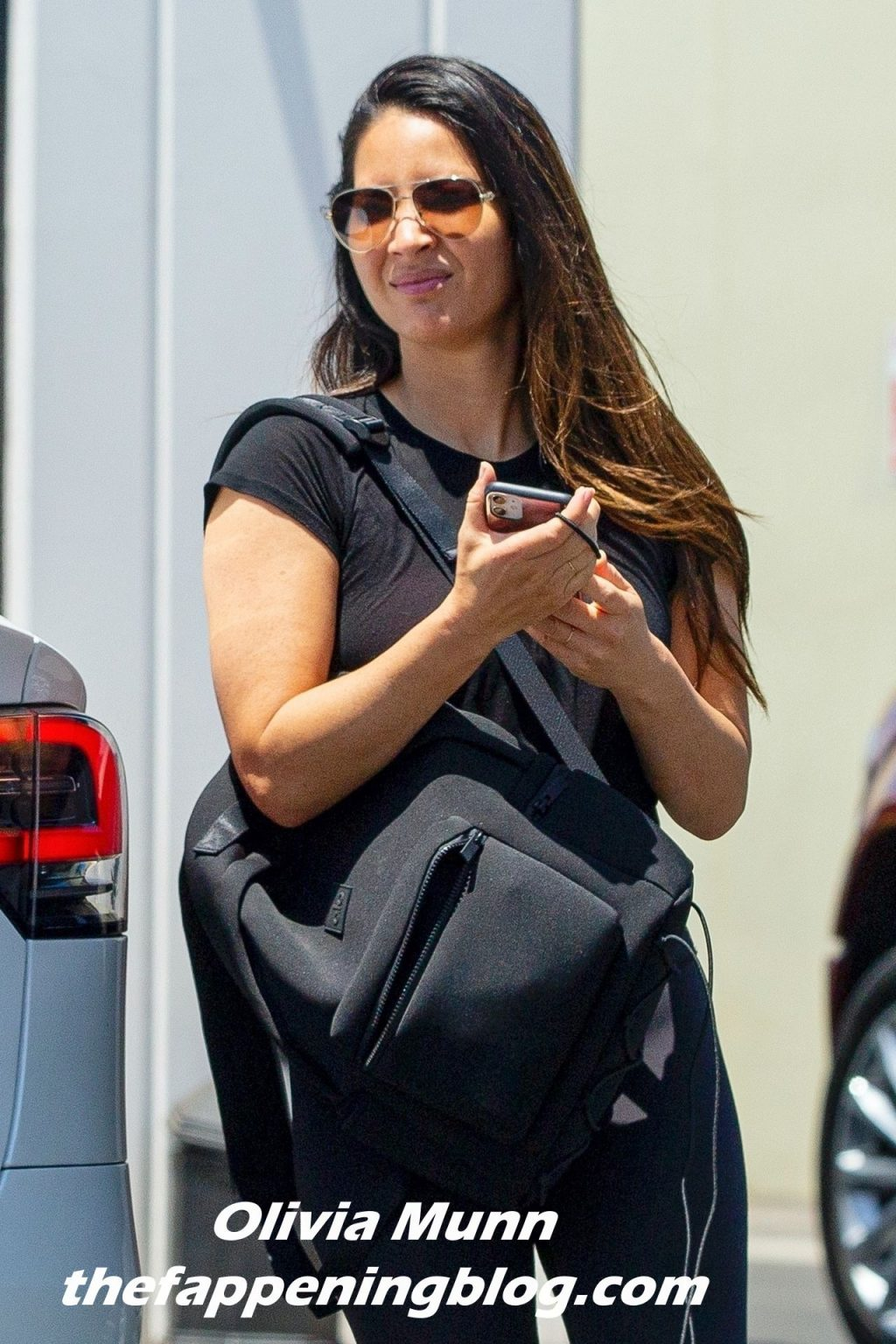 Olivia Munn Is Pictured Leaving a Private Gym Session in LA (16 Photos)