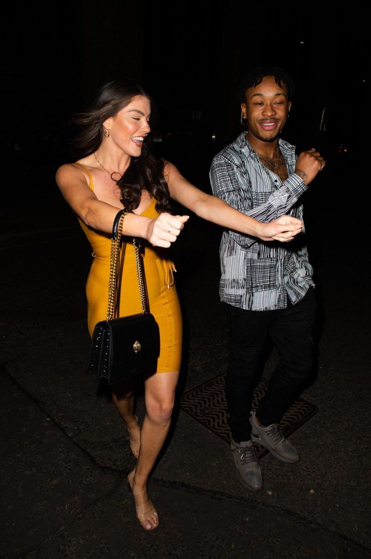 Rebecca Gormley & Biggs Chris Are Seen Heading to a Pub in Newcastle (33 Photos)