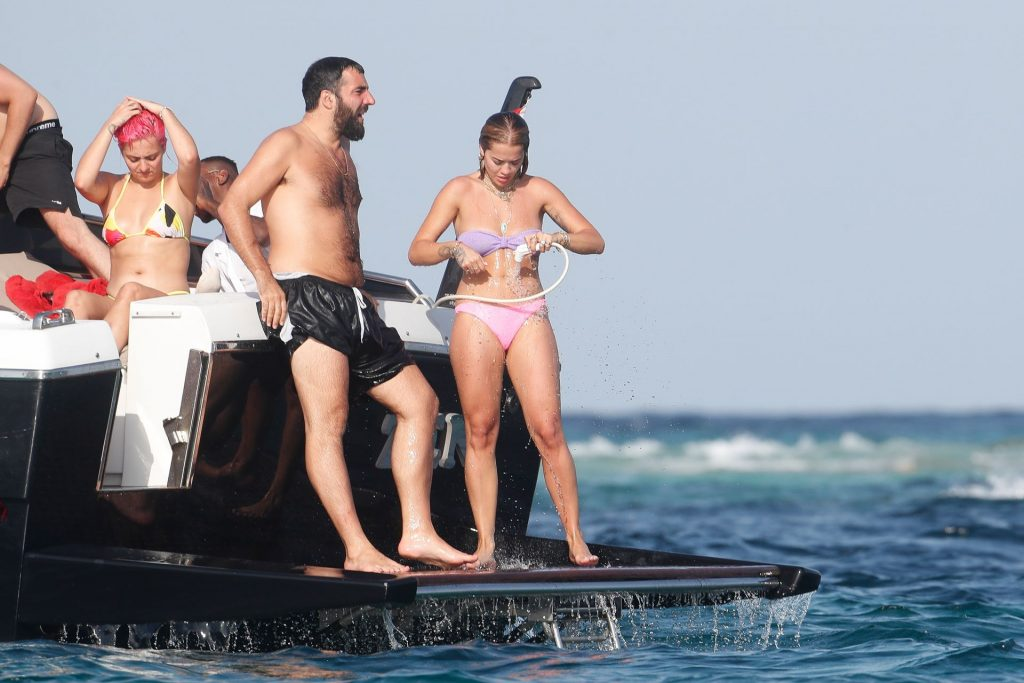 Rita Ora Goes Nude While on Holiday with Romain Gavras (55 Photos + Videos)