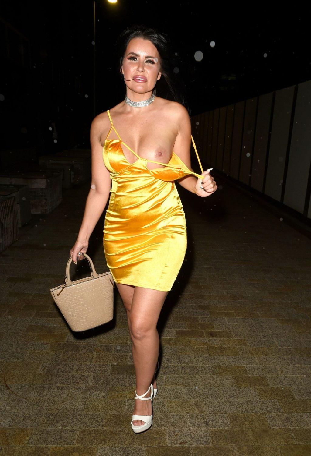 Glamour Model Sarah Longbottom Enjoys Her Nude Wild Night (20 Photos)