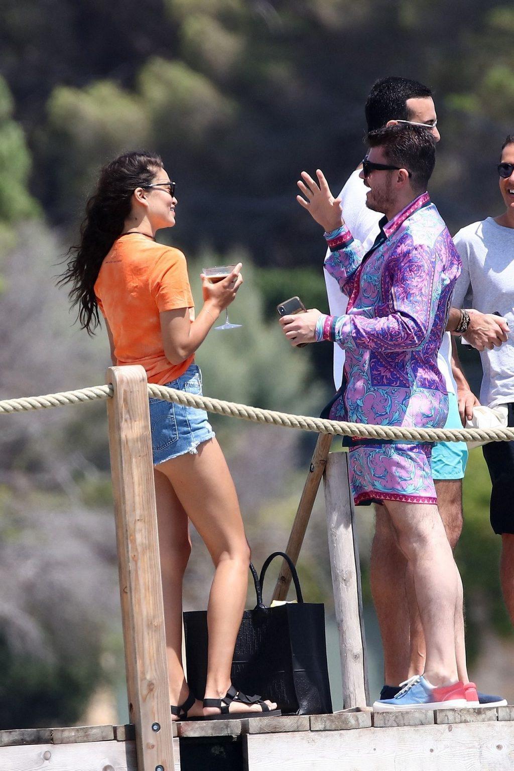 Shanina Shaik & Eli Mizrahi Have Fun in Saint-Tropez (30 Photos)