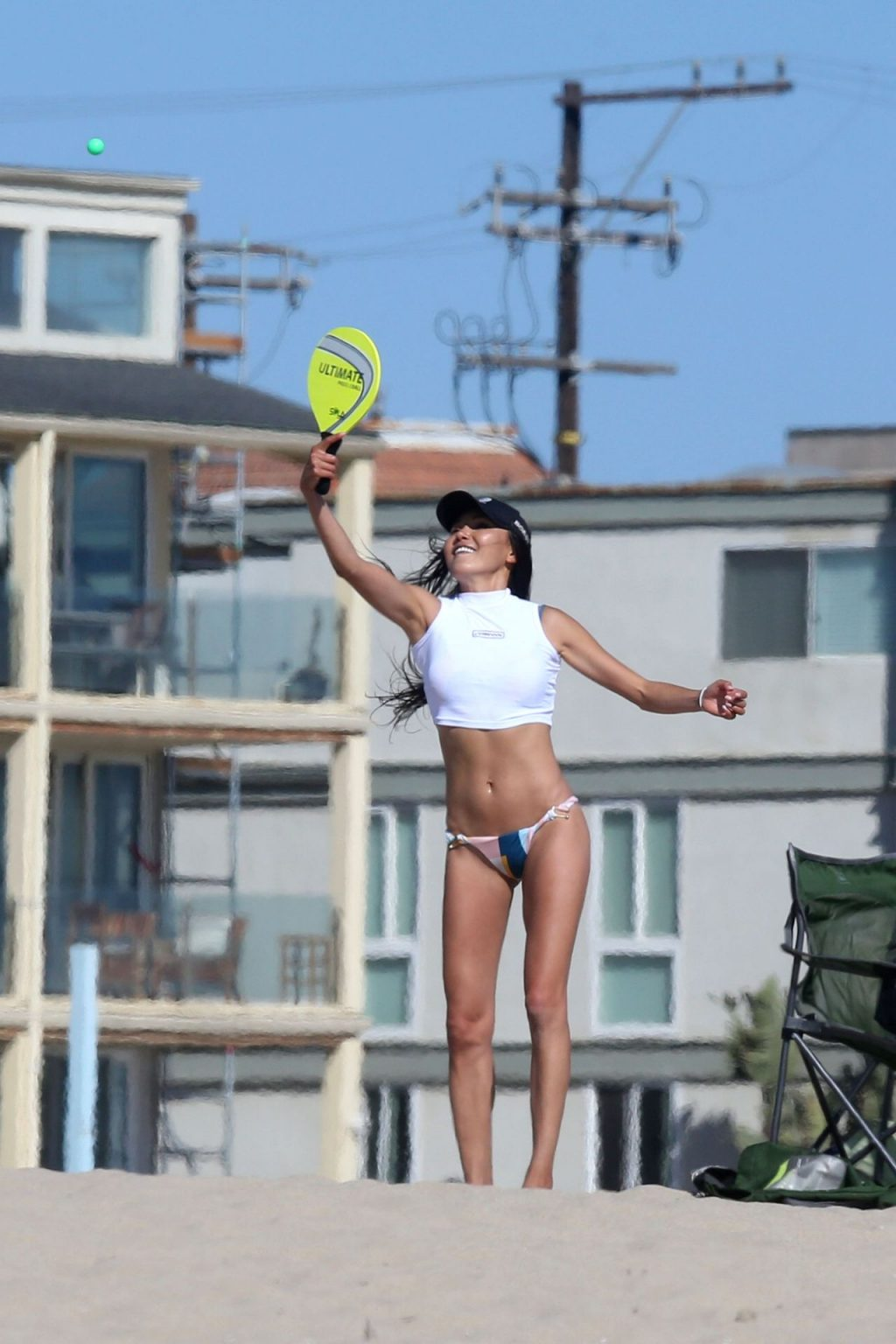 Dylan McDermott Enjoys A Beach Day With Soo Yeon Lee In Los Angeles (33 Photos)