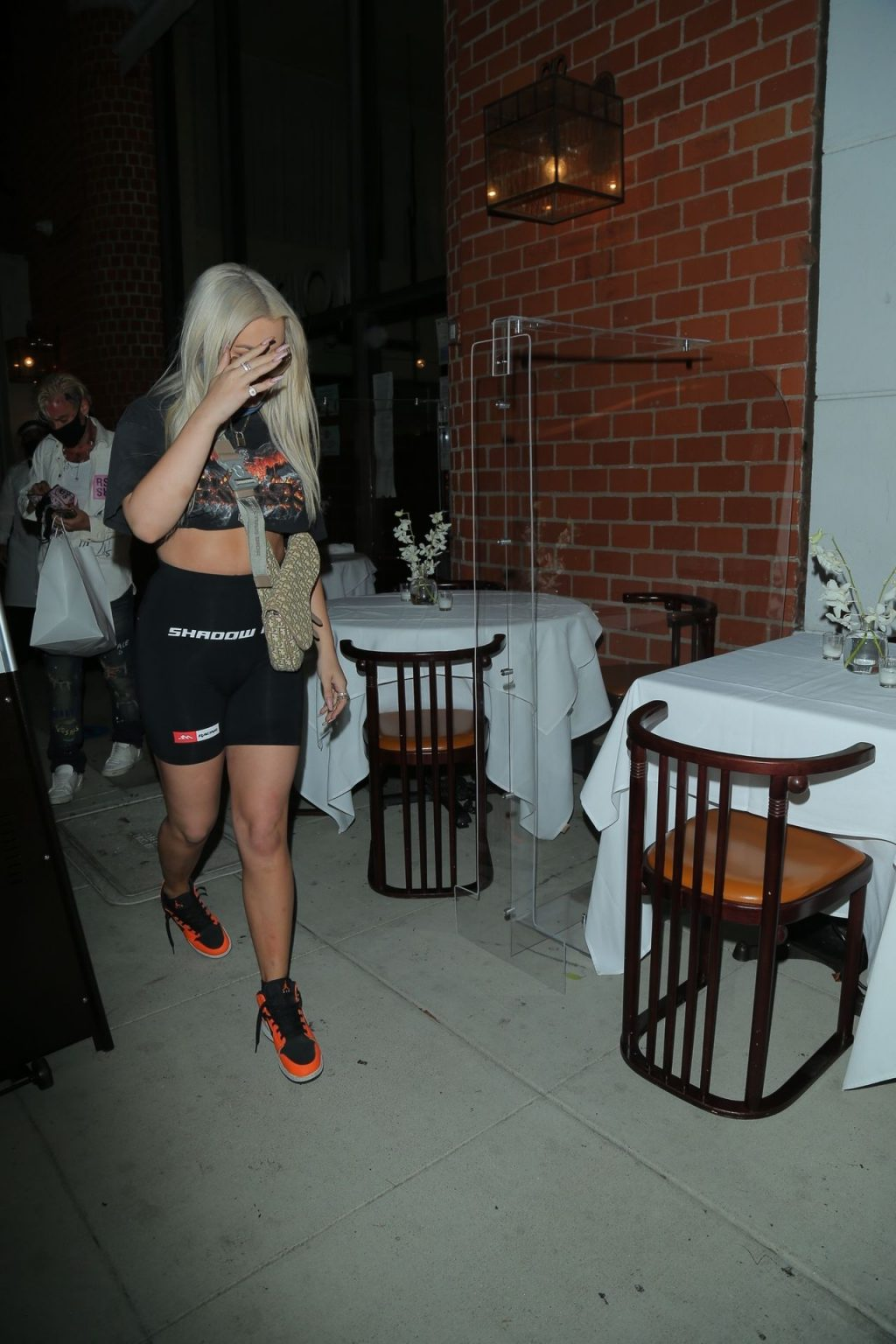 Tana Mongeau Grabs Her Dinner in Beverly Hills (29 Photos)