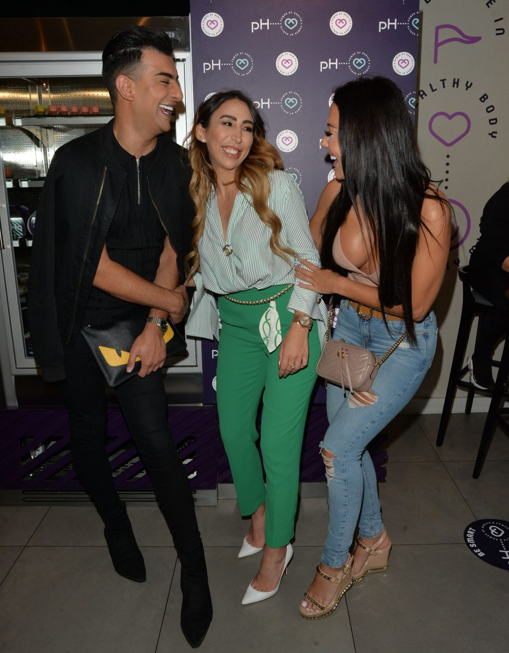 Yazmin Oukhellou Shows Off Her Boobs at Health Cafe (21 Photos)