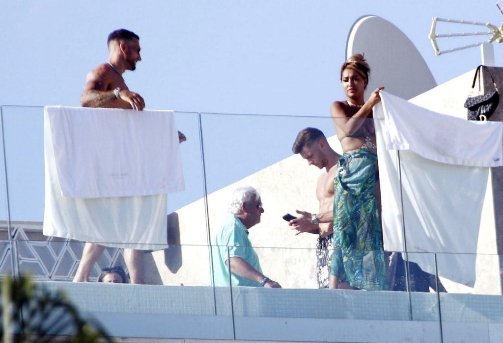 Zahida Allen Shows Off Her Cleavage in Ibiza (20 Photos)