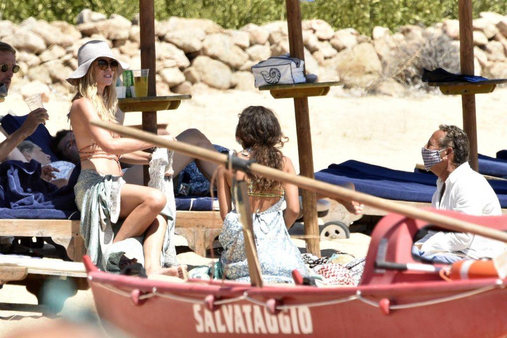 Peter Crouch & Abbey Clancy Enjoy a Day on the Beach in Sardinia (84 Photos)