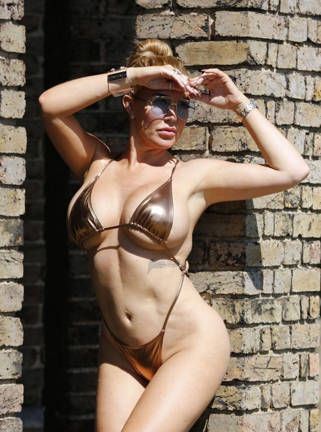 Aisleyne Horgan-Wallace Sizzles in the Summer Heat on the Hottest Day of the Year in London (21 Photos)