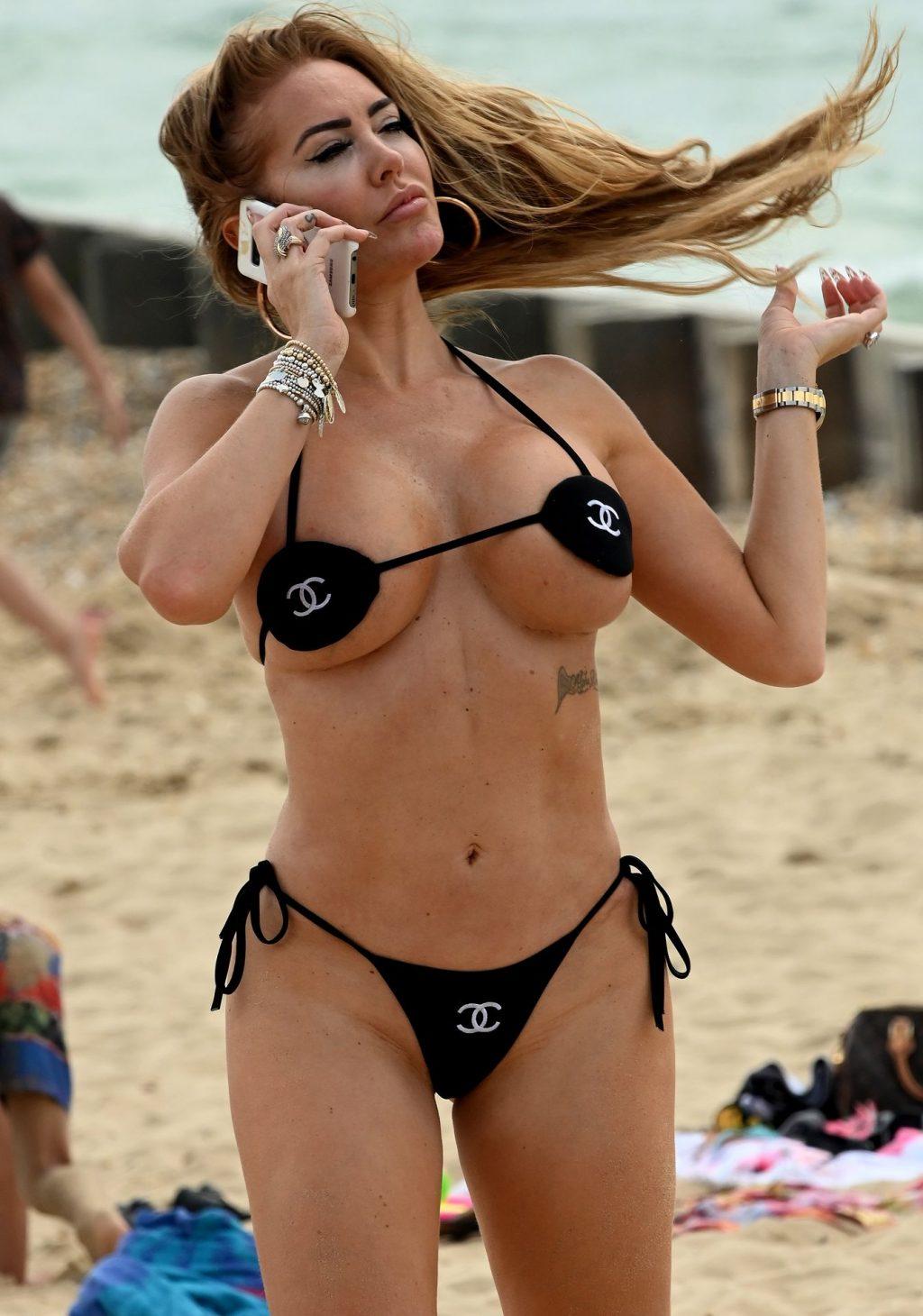 Aisleyne Horgan-Wallace Enjoys a Day in a Tiny Bikini (35 Photos)