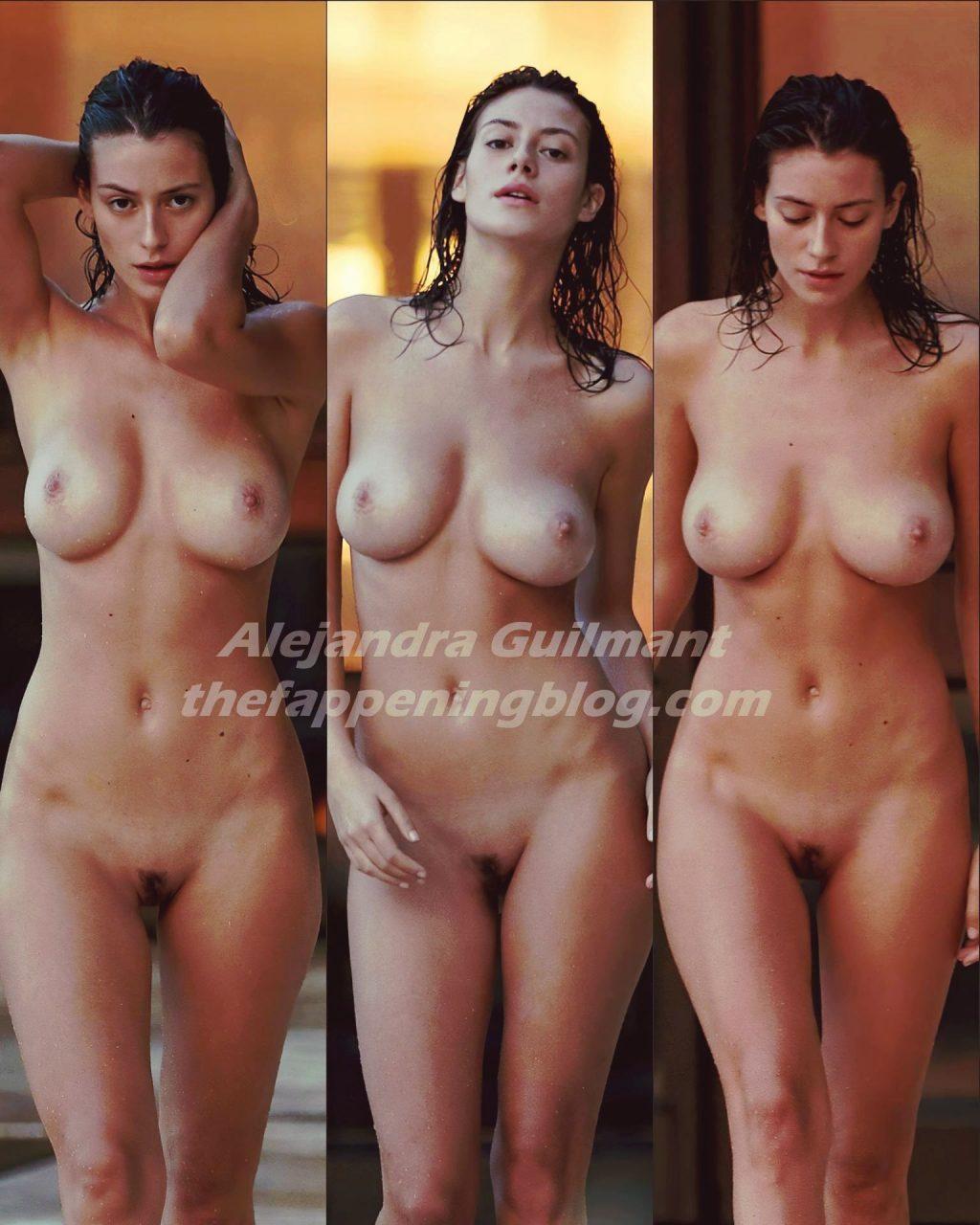 Alejandra Guilmant Nude (1 Collage Photo)