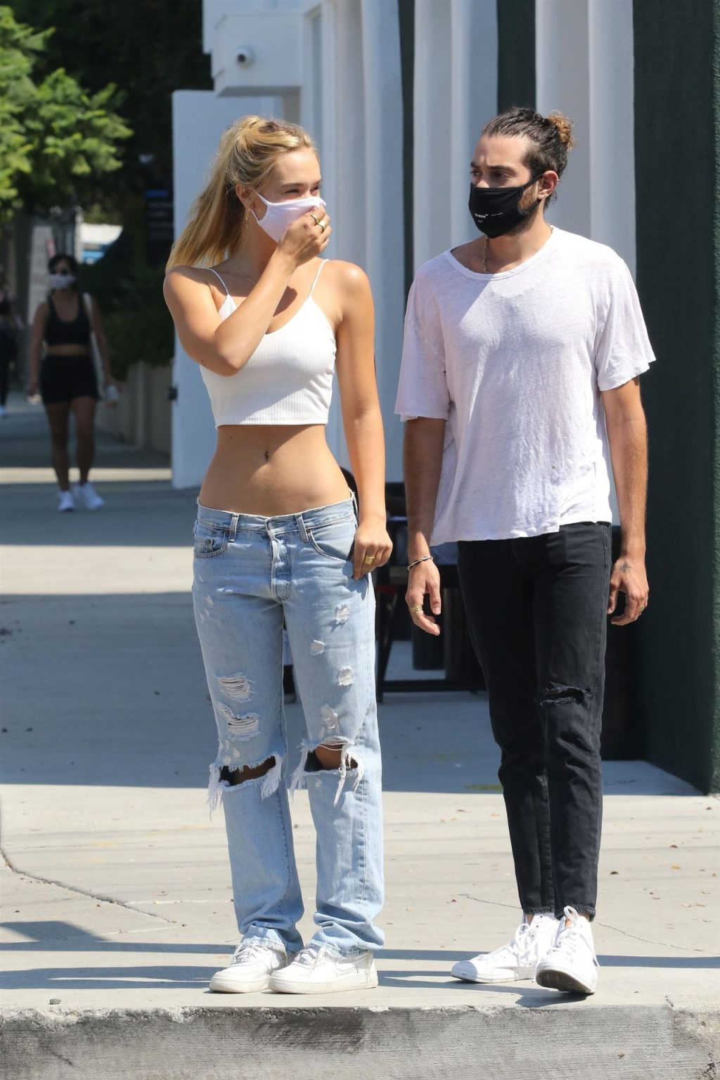 Alexis Ren Shows Off Her Abs in Los Angeles (47 Photos)