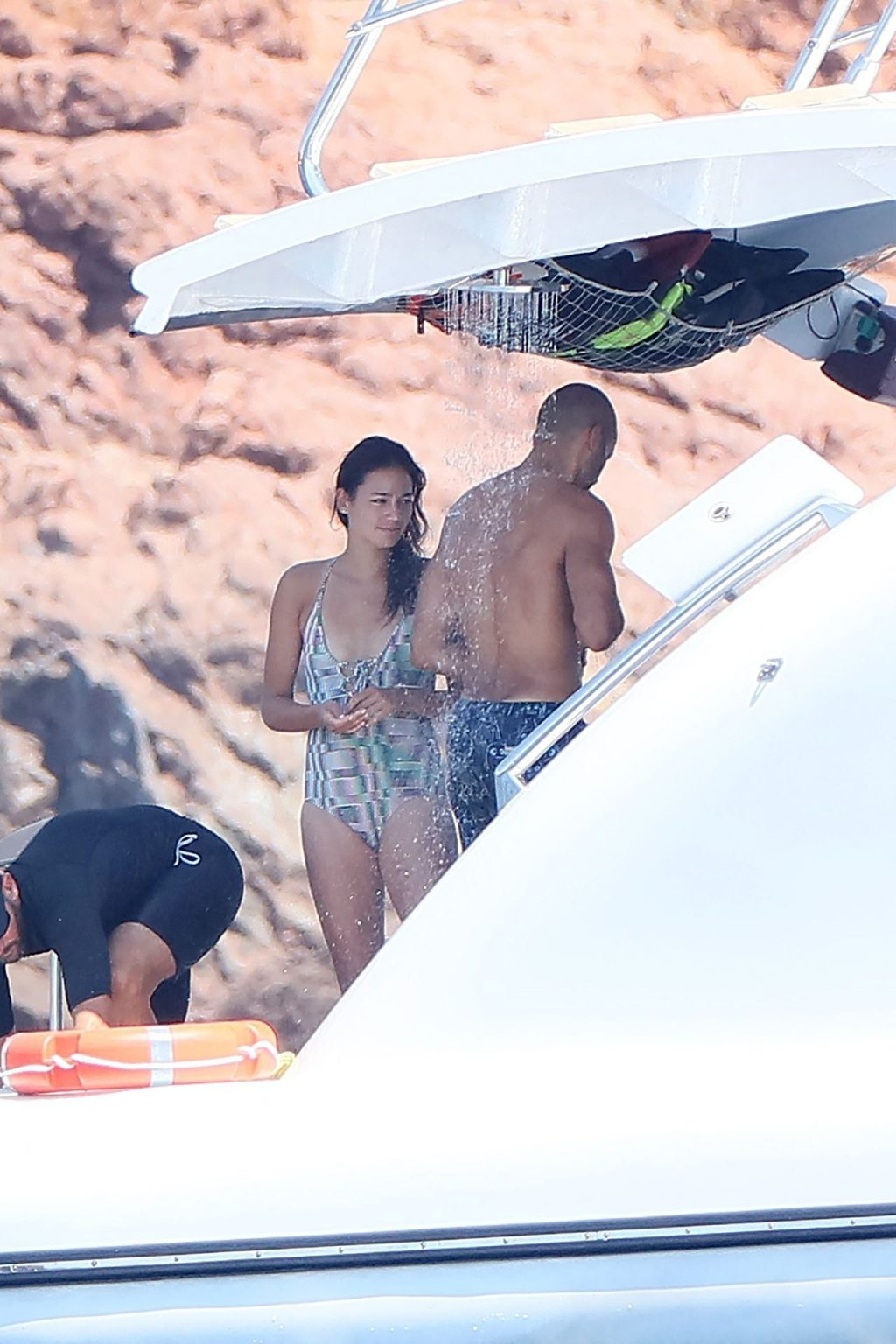 Tony Parker & Alize Lim Are Seen on Holiday in Saint-Tropez (86 Photos)