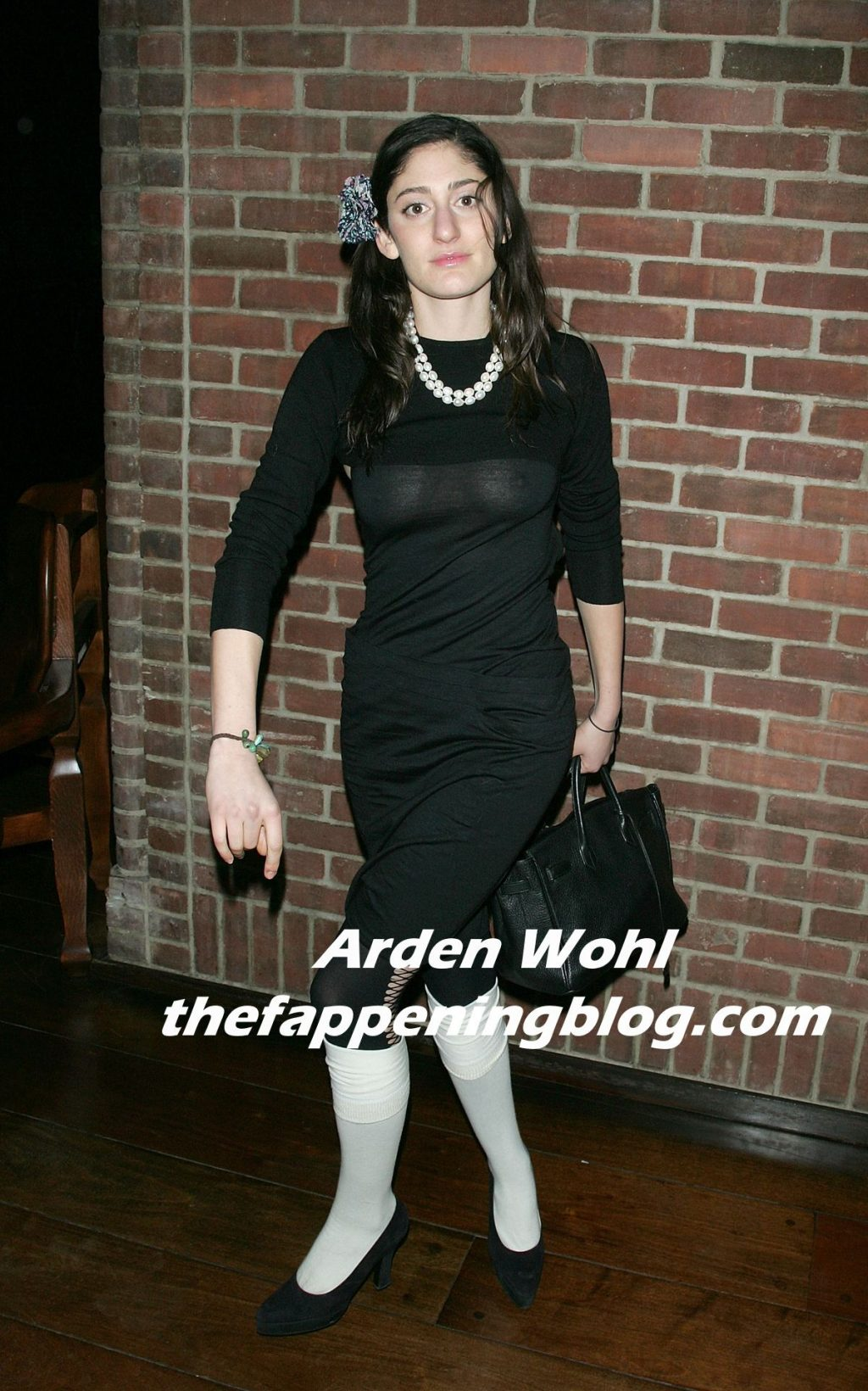 Arden Wohl Displays Her Nude Tits at the Party (6 Photos)