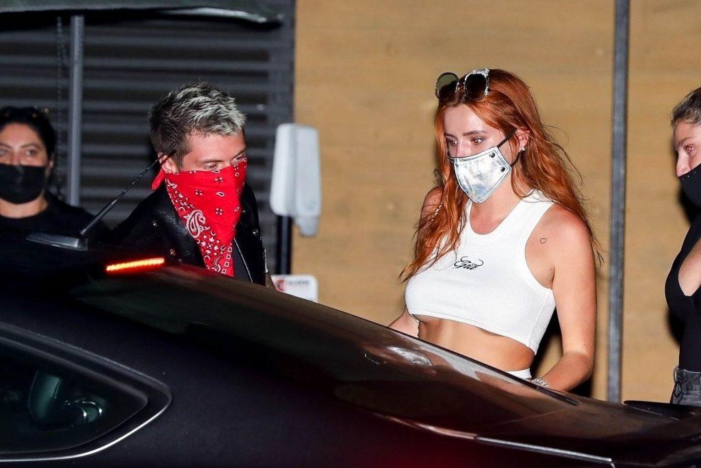 Sexy Bella Thorne Grabs Dinner at Nobu (12 Photos)