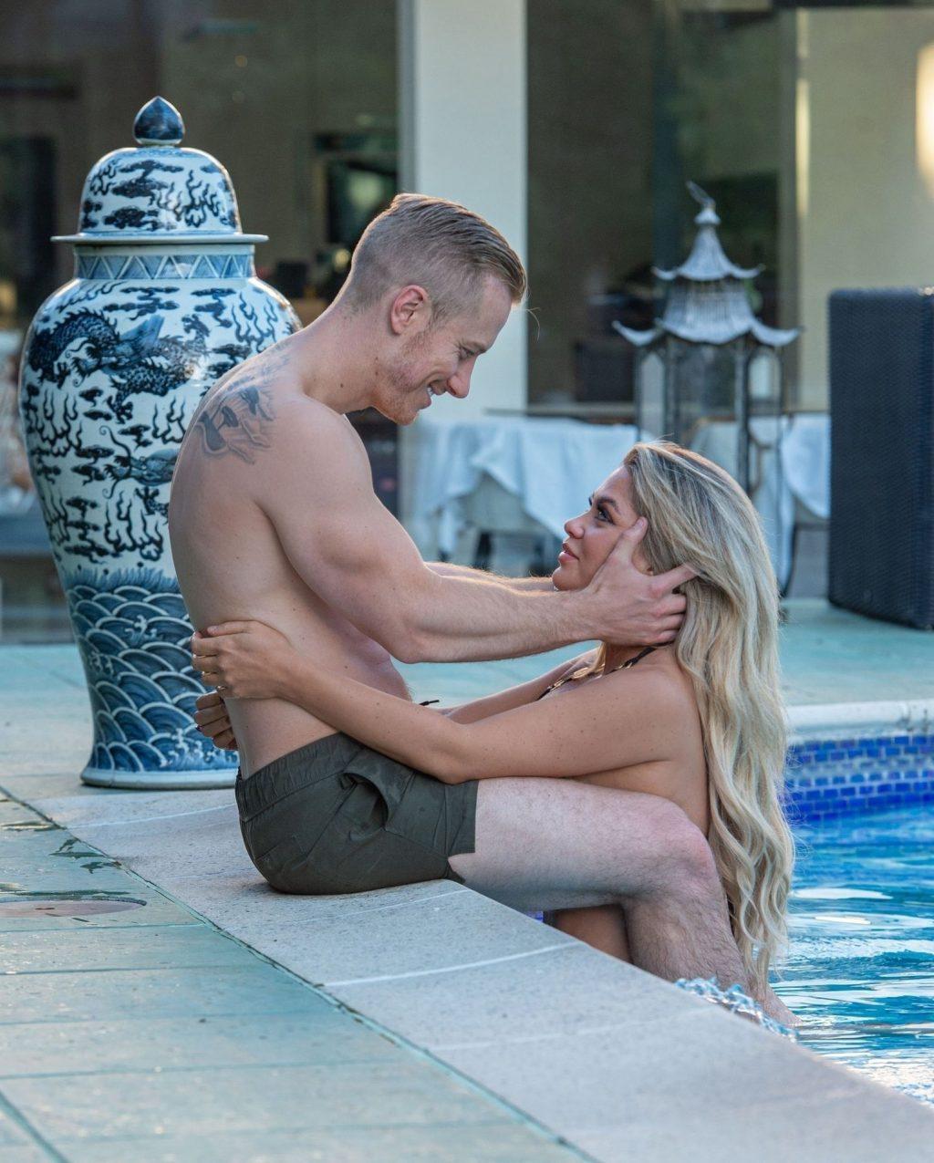 Sexy Bianca Gascoigne & Kris Boyson Are Seen on Their Holiday in Croatia (25 Photos)