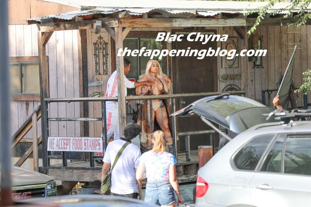 Blac Chyna Shoots Her New Music Video in Palm Desert (41 Photos)