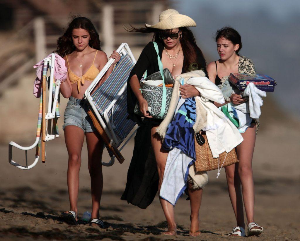 Camila Morrone & Lucila Solá Are Seen Enjoying a Day at the Beach in Malibu (24 Photos)
