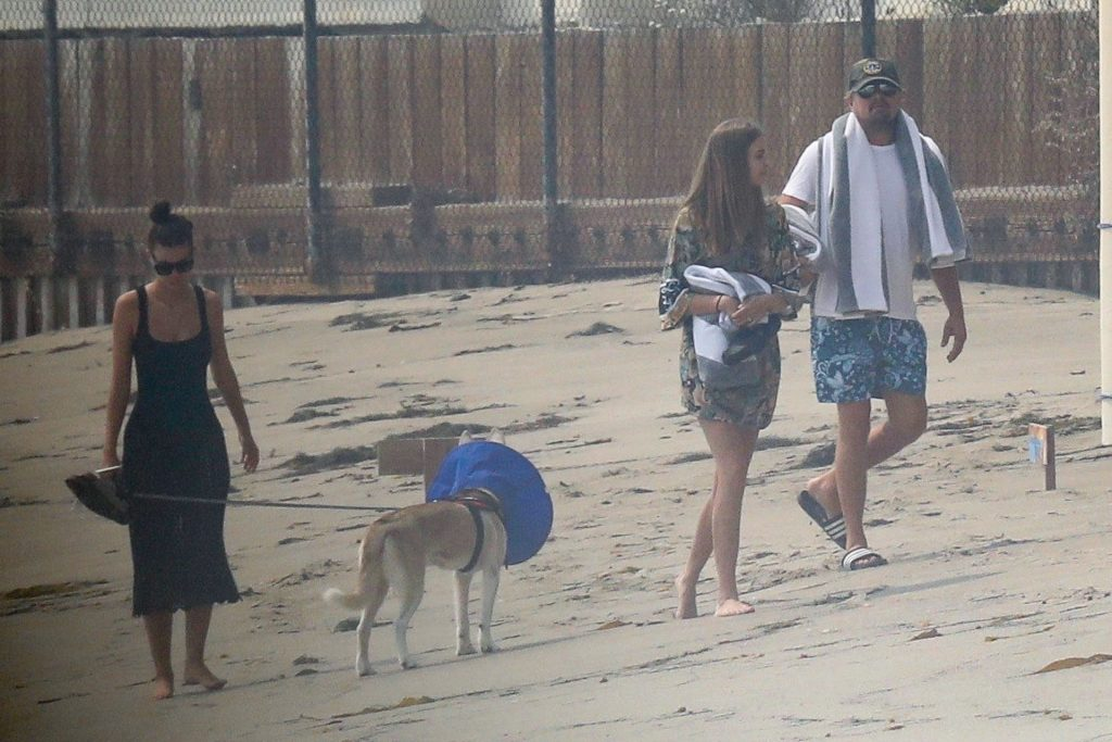 Camila Morrone Enjoys a Beach Day with Leonardo DiCaprio (33 Photos)