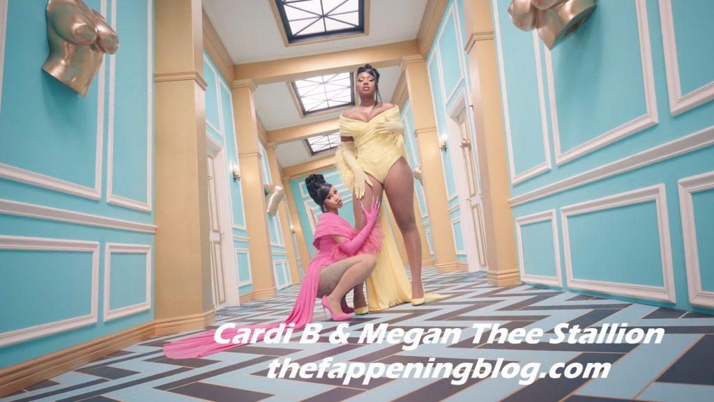 Cardi B & Megan Thee Stallion Release Super Hot Stuff (72 Pics + Video)