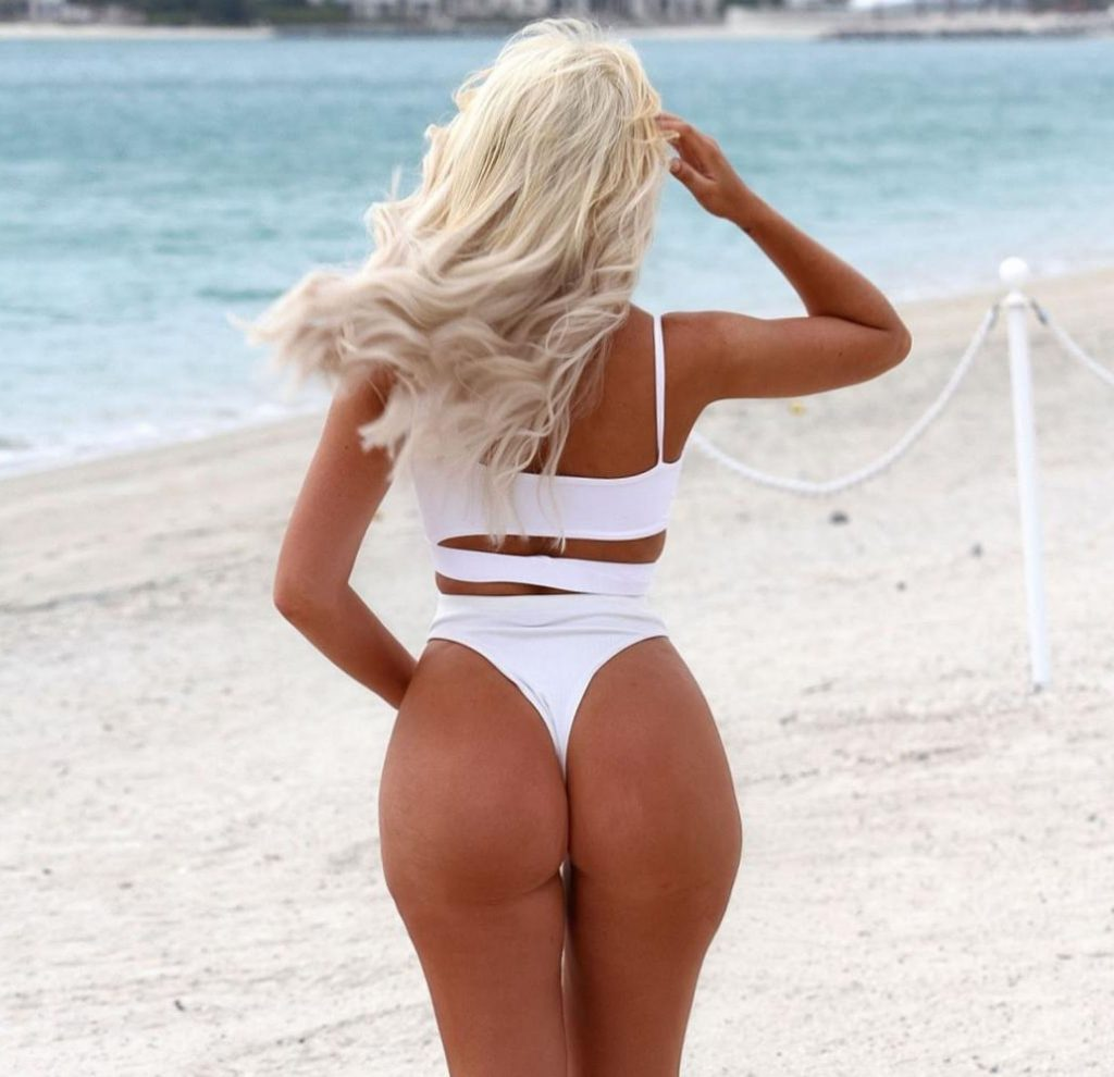 Chloe Ferry Shows Off All Her Voluptuous Curves in Ibiza (11 Photos)