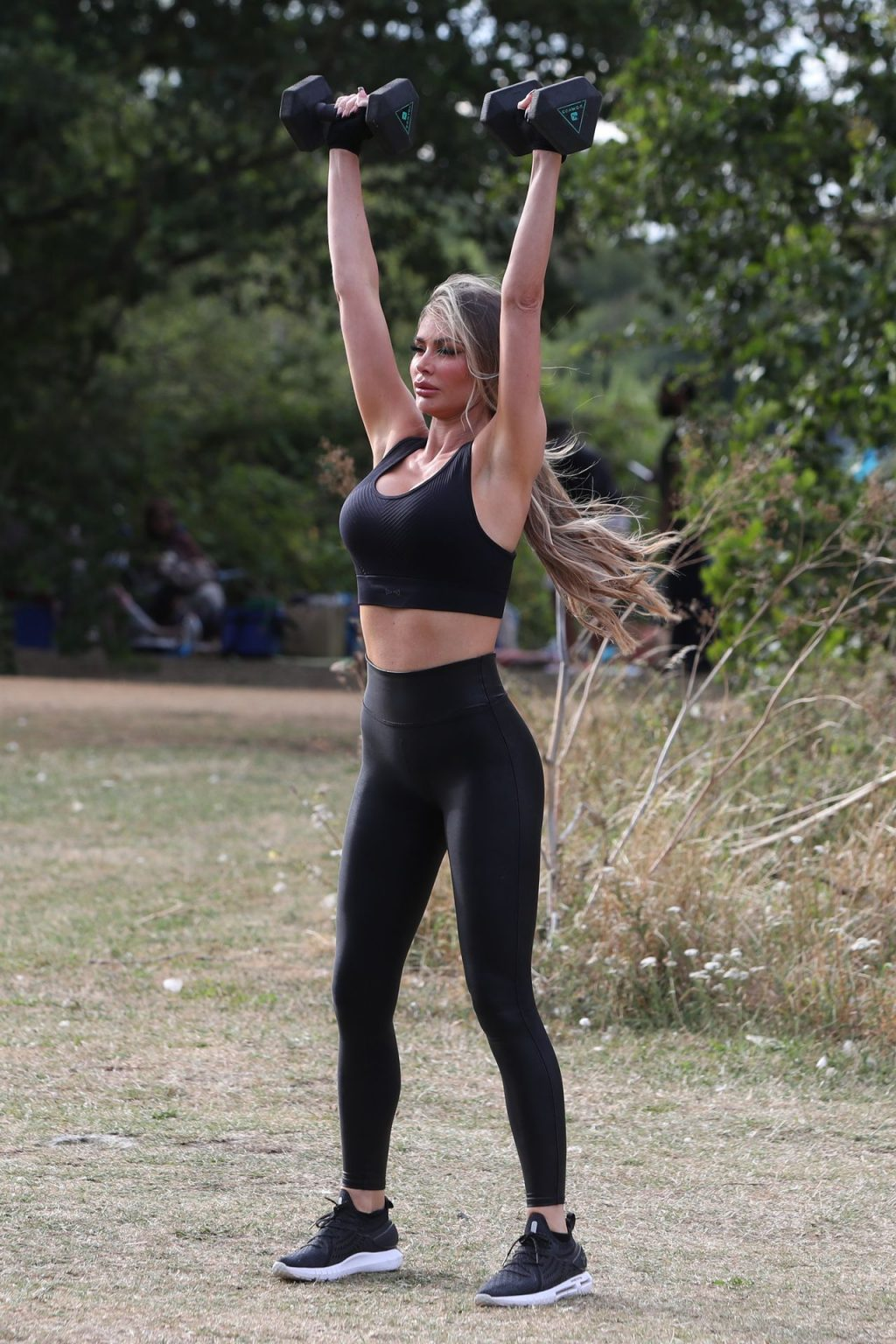 Chloe Sims Shows Off Her Fit Body in London (21 Photos)