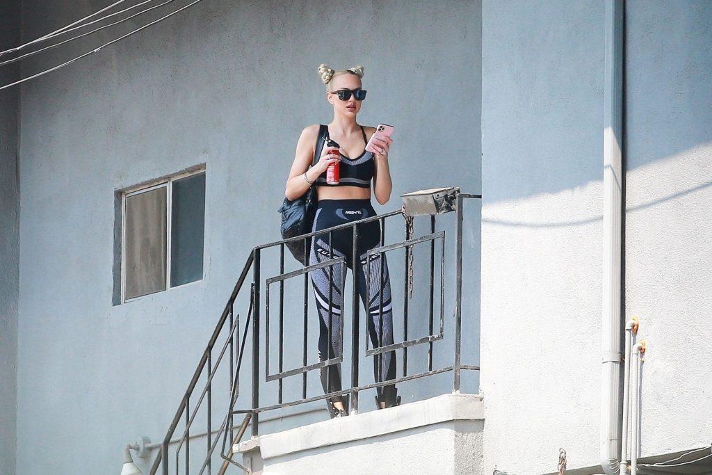 Christine Quinn Heads to the Dance Studio (19 Photos)