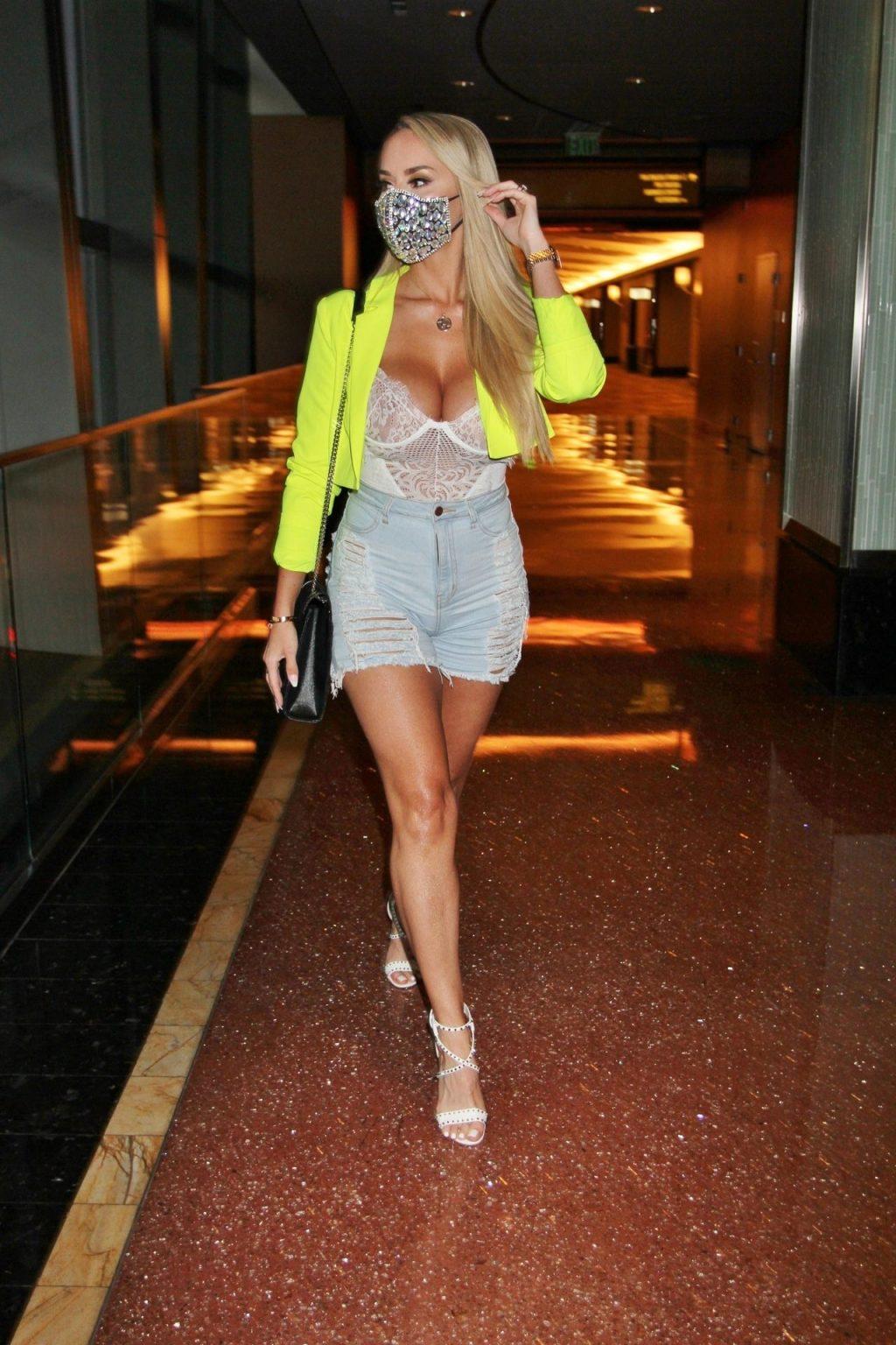 Claudia Fijal Puts on a Busty Display in Las Vegas (9 Sexy Photos)