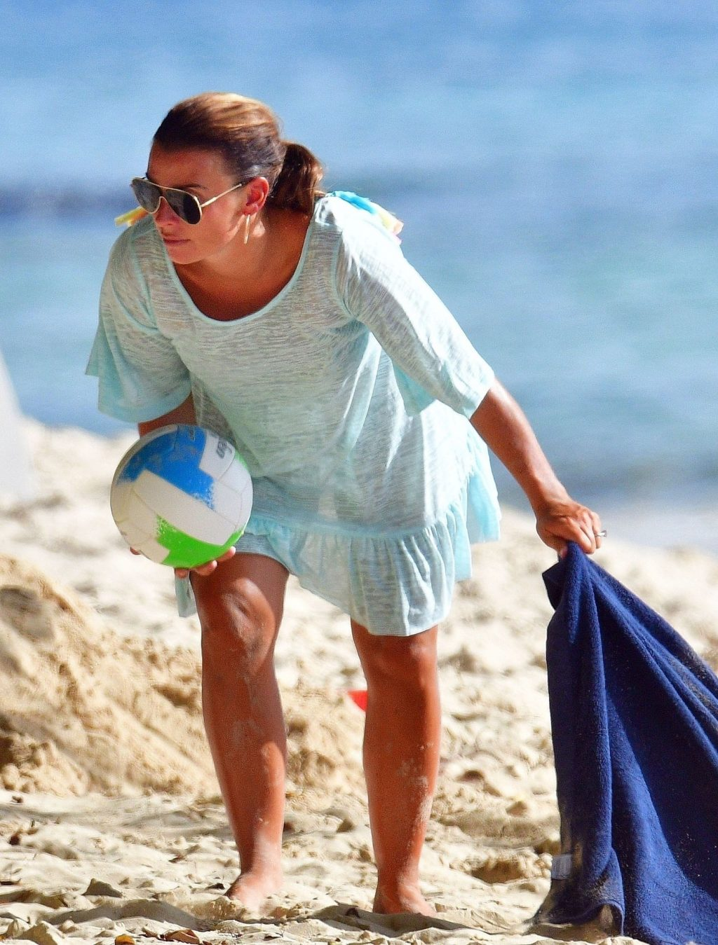 Coleen Rooney Shows Off Her Impressive Tan on the Beach in Barbados (63 Photos)