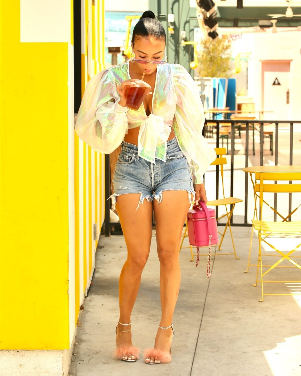 Draya Michele Puts on a Leggy Display in LA (44 Photos)