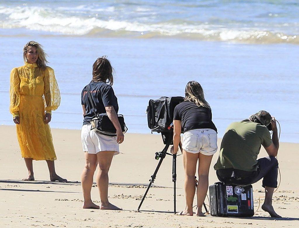 Elsa Pataky Poses on a Sexy Beach Photoshoot in Byron Bay (42 Photos)