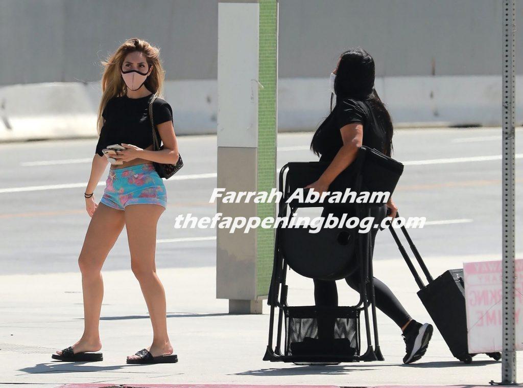 Farrah Abraham Has a Closed Location for a Photoshoot with Alpha Magazine (21 Photos)