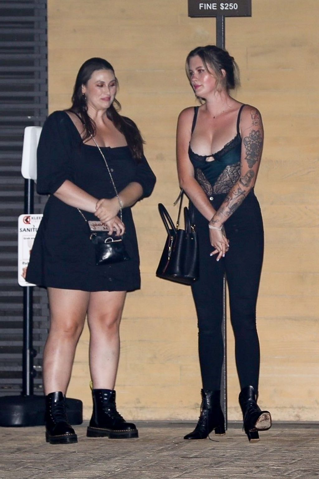 Ireland Baldwin Stuns as She Exits Nobu After Dinner with Friends (46 Photos)