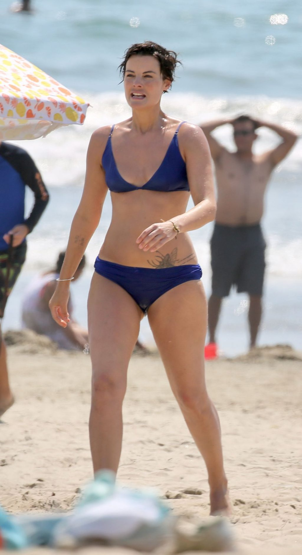 Jaimie Alexander Hits The Beach to Cool Off in Malibu (25 Photos)