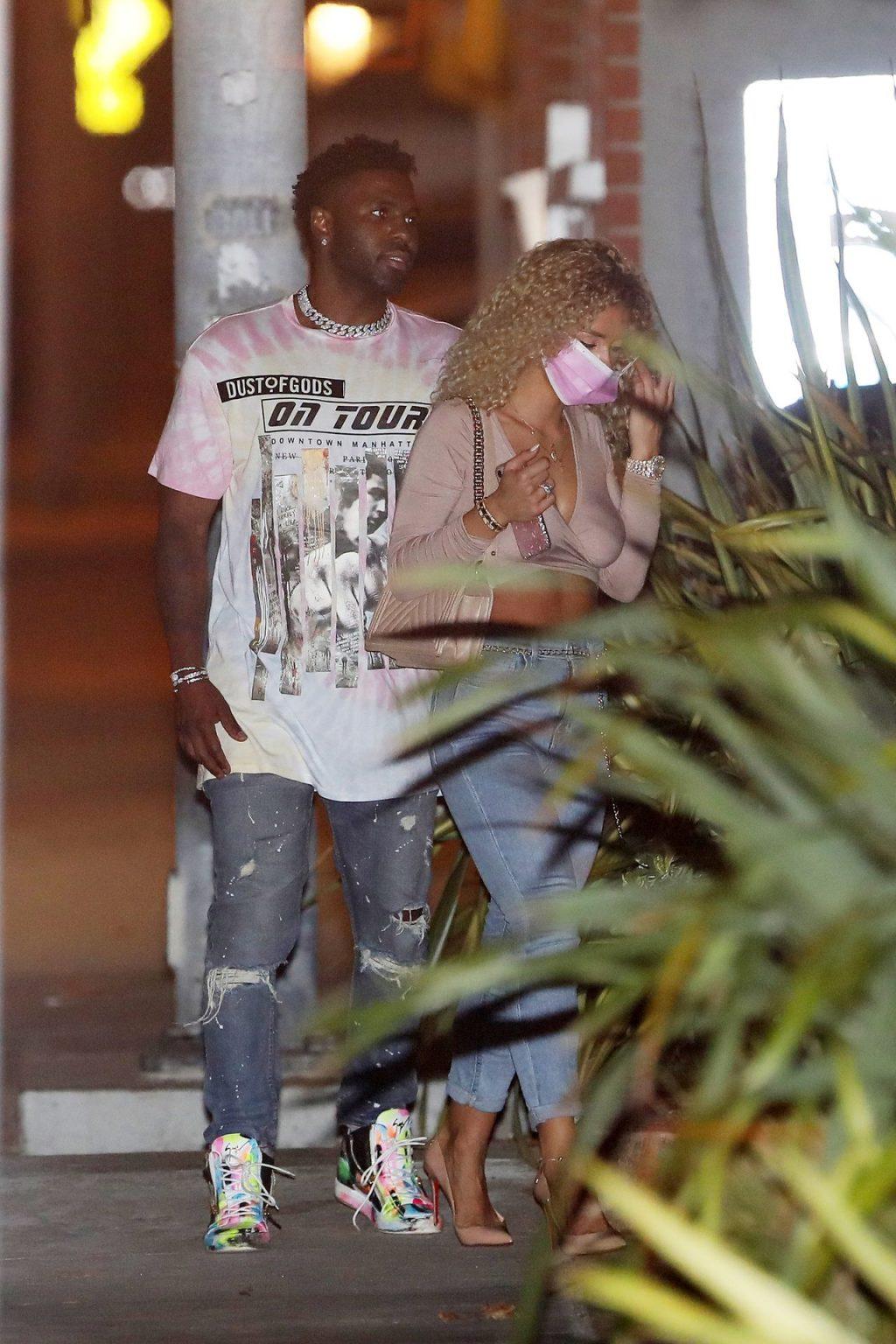 Jason Derulo & Jena Frumes Show PDA after Having Dinner at Nobu (43 Photos)