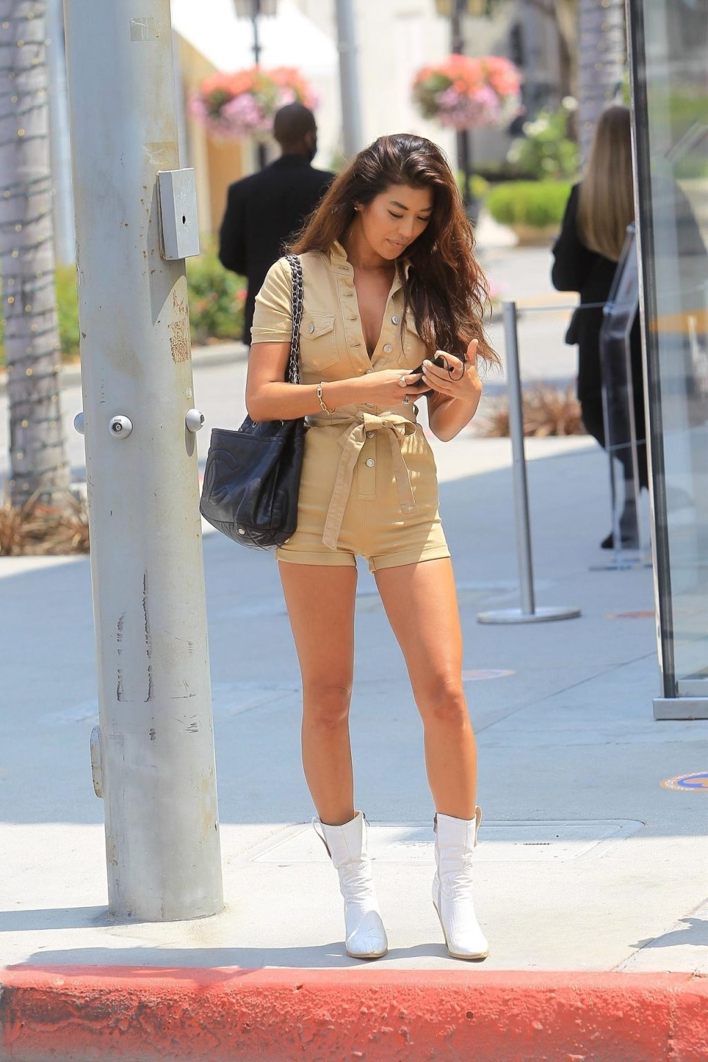Jenn Lee Shows Off Her Sexy Legs in WeHo (9 Photos)