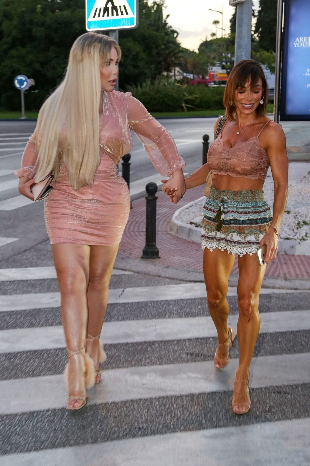 Jessica Alves Looks Sexy with Danni Levy in Marbella (19 Photos)