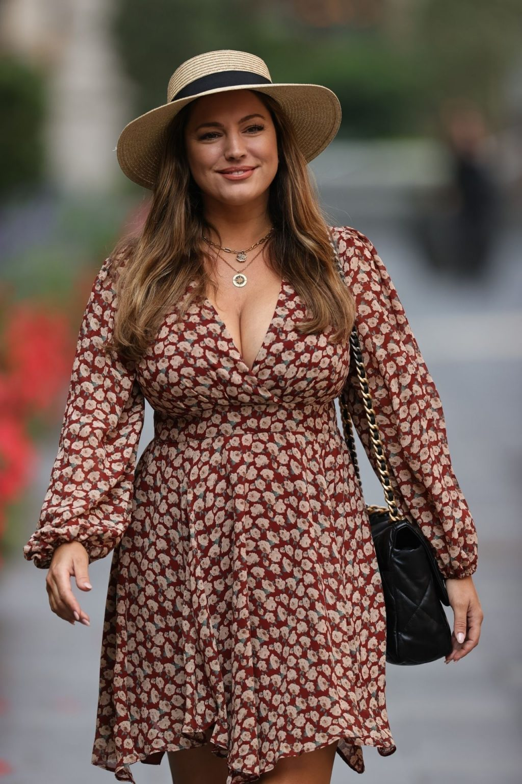Kelly Brook Makes Busty Exit From Heart Radio (66 Photos)