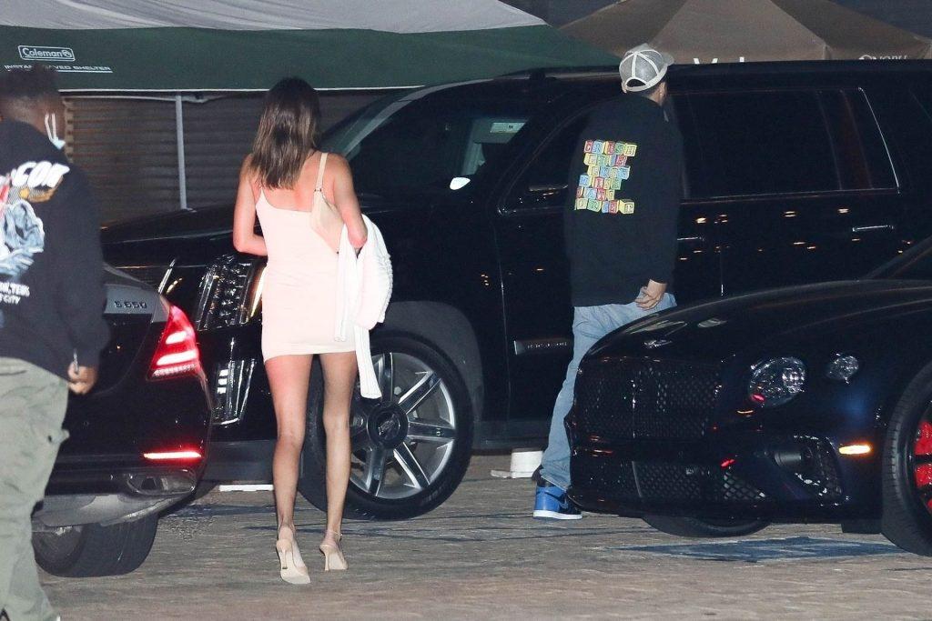 Kendall Jenner Gets Leggy as She Arrives at Nobu (21 Photos)