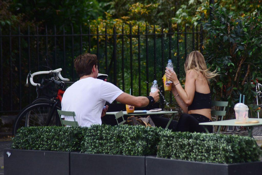 Kimberley Garner & Ollie Chambers Are Seen in London (60 Photos)