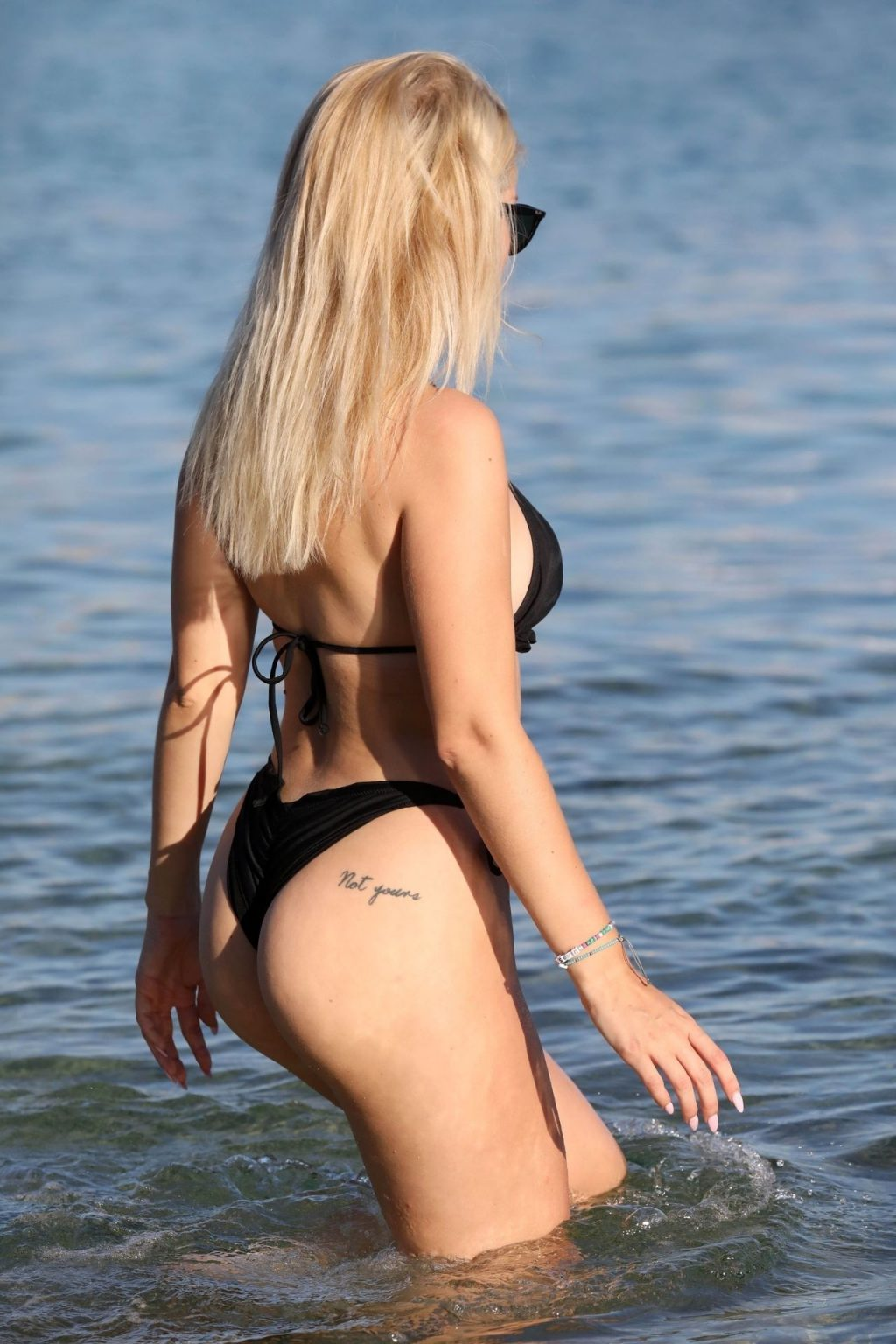 Lottie Moss Shows Off Her Sexy Bikini Body on the Beach in Mykonos (9 Photos)