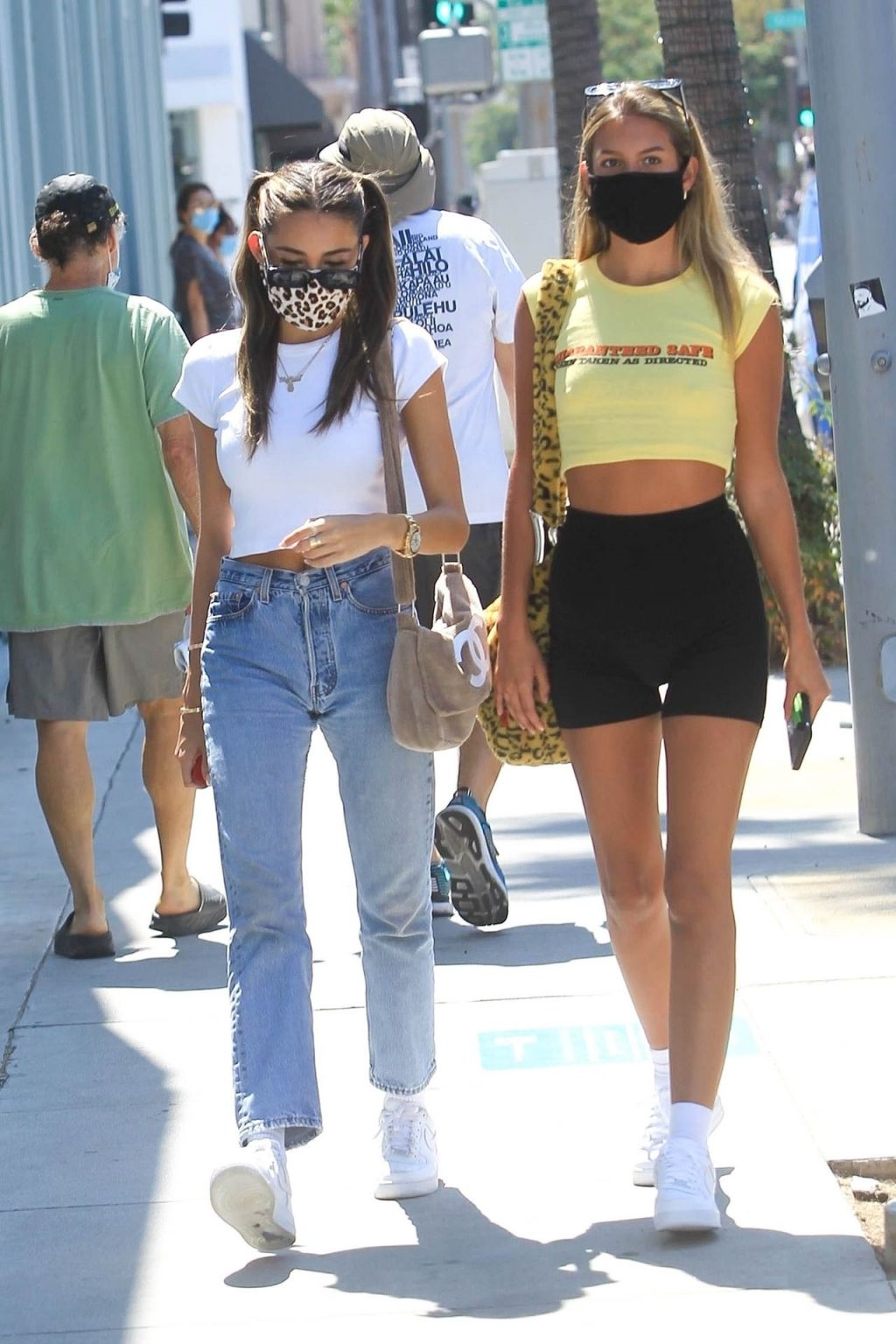 Madison Beer Takes Her Ferrari Out in Beverly Hills (25 Photos)